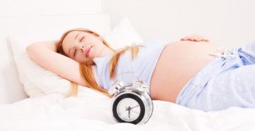 Почему беременным нельзя спать