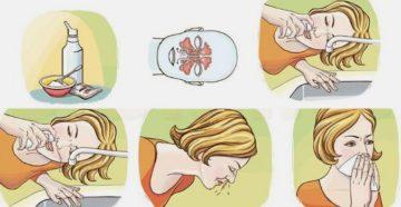 Как правильно промывать детям нос физраствором