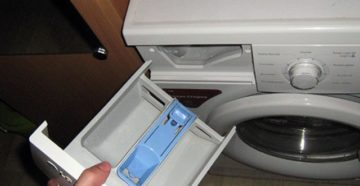 Почему течет стиральная машинка из отсека для порошка