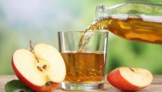 Яблочный сок при гв